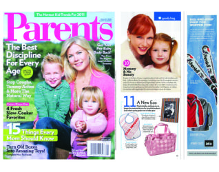 Maggie Bags in Parents Magazine