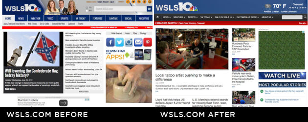 WSLS.com Before and After